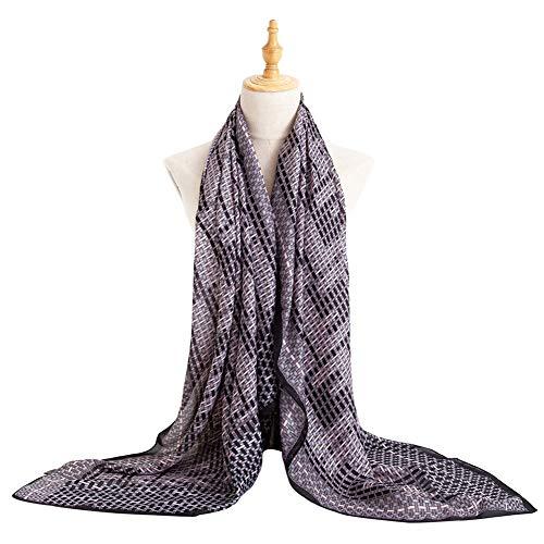 (Bellonesc Silk Scarf 100% silk Long Lightweight Sunscreen Shawls for Women)
