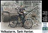 Master box 1/35 German national assault Squadron 1 body-tank killer military bicycle parts