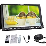 "Newest WIN 8 HD Car Radio Rear Camera In-dash 7"" 2 Double DIN Car DVD CD Video Player GPS Navigation Bluetooth Digital Touch Screen Car Stereo Radio SD/USB BT Bluetooth Car PC FM/AM Radio+Free Official GPS Map Headunit"