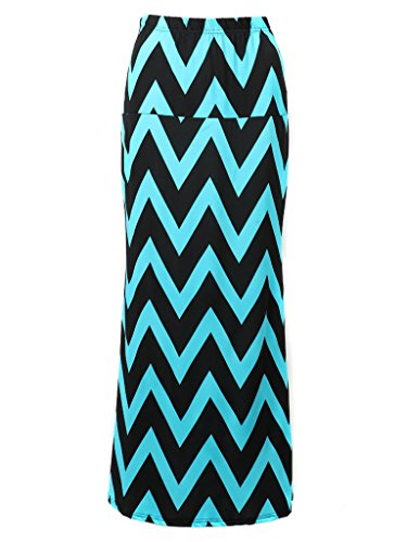 Choies Womens Chevron Length Skirts