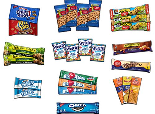 Ultimate Snack Assortment Care Package - Chips, Crackers, Cookies, Nuts, Bars - School, Work, Military or Home (40 Pack) by Custom Treats (Image #2)