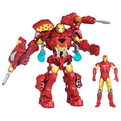 Amazon com : Comes With A Suit Of Stark Tech Assault Armor That