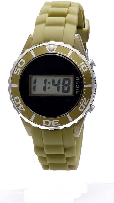 Pilgrim Watches - Reloj digital de mujer con correa de ...