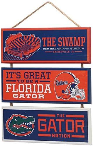 Open Road Brands University of Florida Football Stadium Linked Wood Wall D/écor