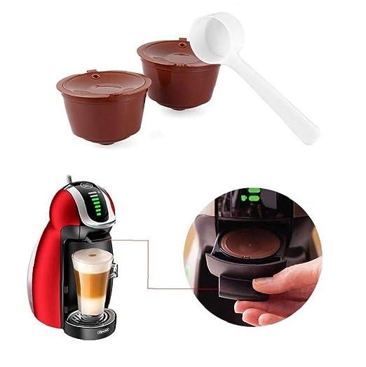 Angoter Café de la cápsula plástica de la cápsula Reutilizable ...