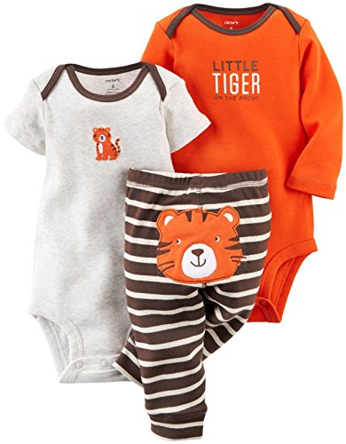 Carter's Baby Boys' 3 Piece Take Me Away Set (Baby) - Tiger - 18M ()
