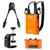 Godox Propac Orange 4500mah Pb960 Battery Pack with Standby Single Battery, Db-02 Y Adapter, Q-type Battery Bracket