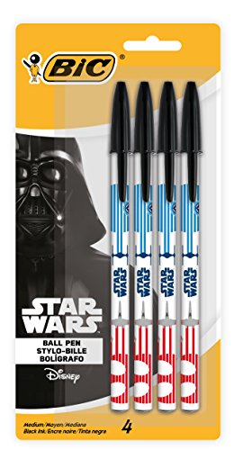Star Wars BIC Ball Pen, Medium Point (1.0 mm), Black, -