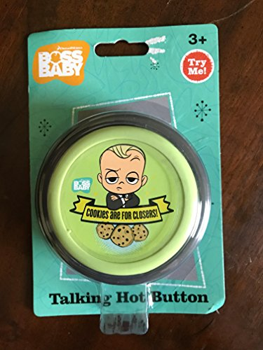 Boss Baby Talking Button by DreamWorks