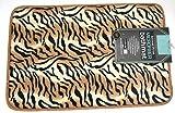 Animal Print Microfiber Bath Mat - Tiger 16'' X 24''