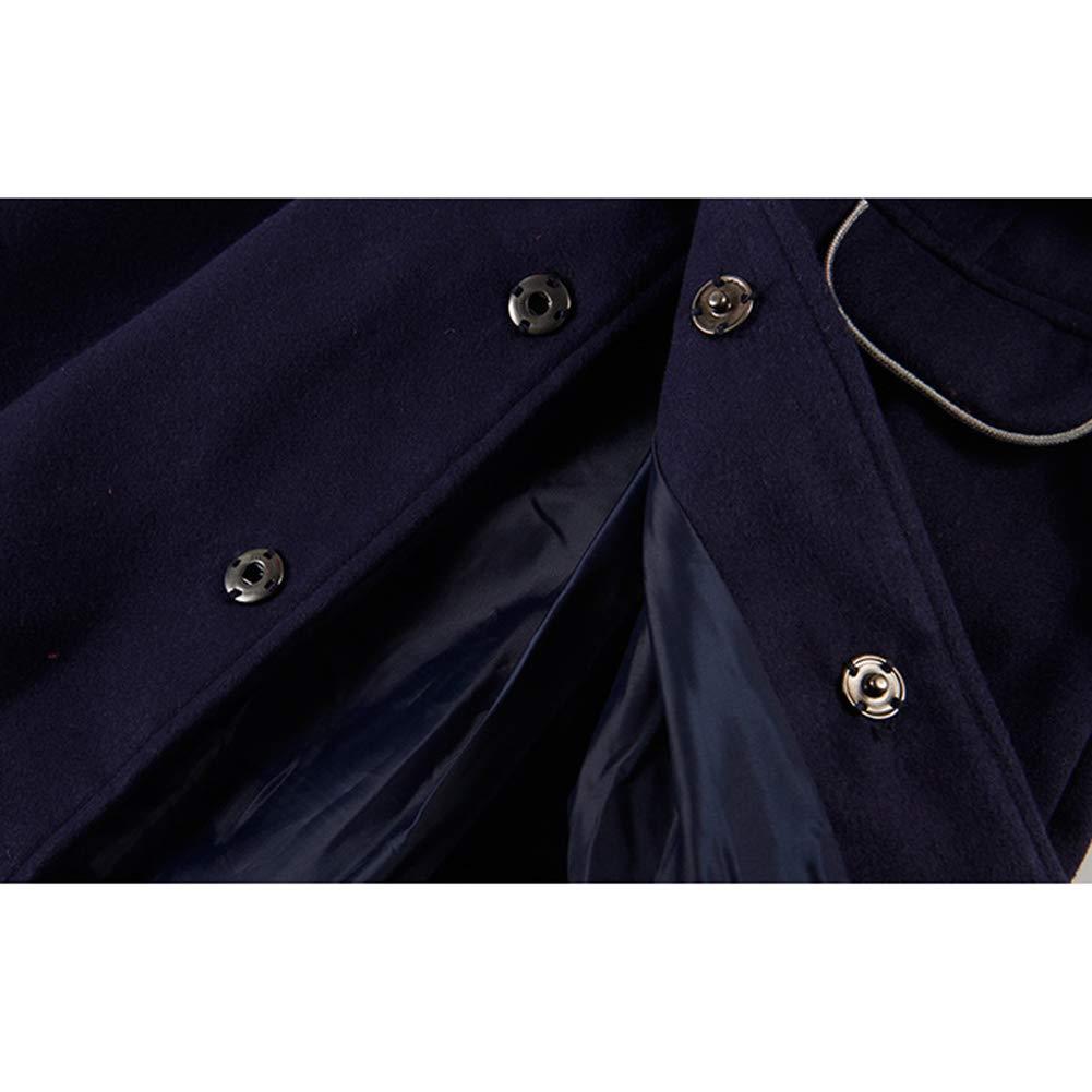 Goodkids Little Girls Peacoat Faux Wool Dress Coat Slim Children Princess Warm Autumn Winter Long Windbreak Cloak Outwear