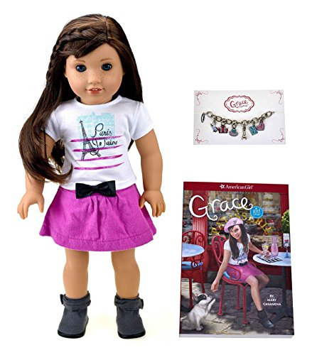 American Girl Doll Grace With Paperback (2015)