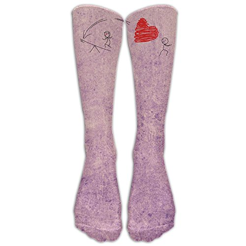 Heart Arrow Archery Love Heart Designer Printed Socks Leg Warmer Compression Socks