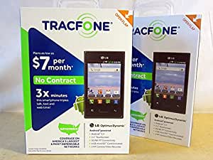 LG Optimus Dynamic Android Prepaid Phone with Triple Minutes (Tracfone)