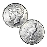 1924 P Peace Silver Dollar $1 Brilliant Uncirculated US Mint