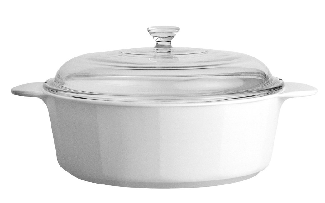 CorningWare Dimensions Round Casserole 0.8L World Kitchen 3430 Casseroles Casseroles & Stewpots