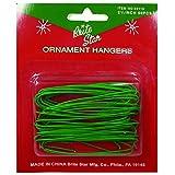 Brite Star Ornament Hooks, 50 Count, Green