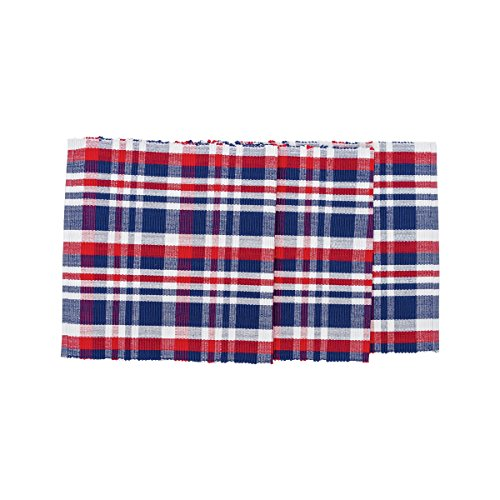 Harbor Plaid Table Runner 13x72 inches 100% -