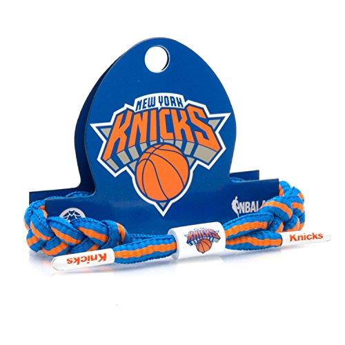 New Bracelet Knicks York Nba - Rastaclat NBA New York Knicks Blue Orange Basketball Shoelace Bracelet RC001NYK