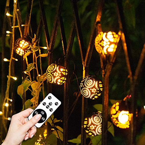 Flame Light, Outdoor String Lights 8 Realistic Dancing Flame Effect LED Night Light Bulbs Decorative for Halloween Xmas Garden Patio Deck Yard Path (Outdoor Lights Tiki Bar)