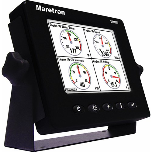 Maretron DSM250-01 Multi Function Color Display, Black