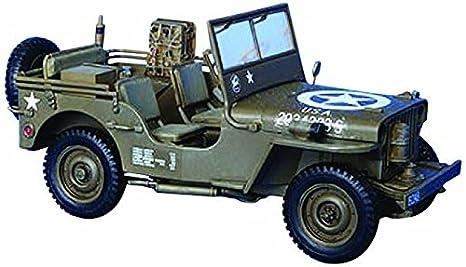 Desconocido Maqueta de Coche Jeep Escala 1:35: Amazon.es ...