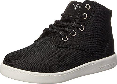 Creative Recreation Kids Boy's Vito (Toddler/Little Kid) Black/White Sneaker 1 Little Kid M