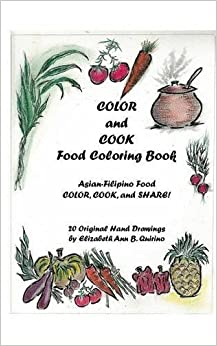 color and cook food coloring book - Food Coloring Book