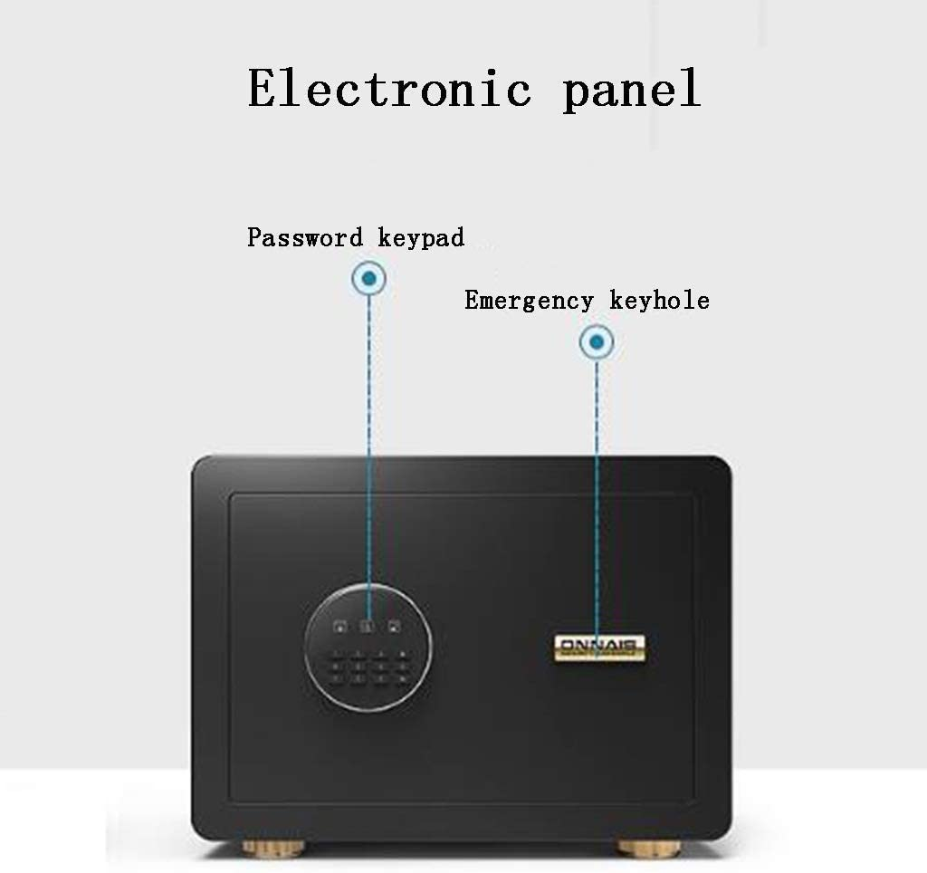 with Digital Keypad and Bolt Lock for Jewelry Money Document Safe Agile Fingerprint Recognition System,Convenient and Rapid Opening Hotel ZSAIMD Safe Cabinet Safes Great for Home Office