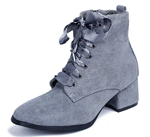 Shoes Su Lacets AgeeMi Boots Femmes PTwnqYz