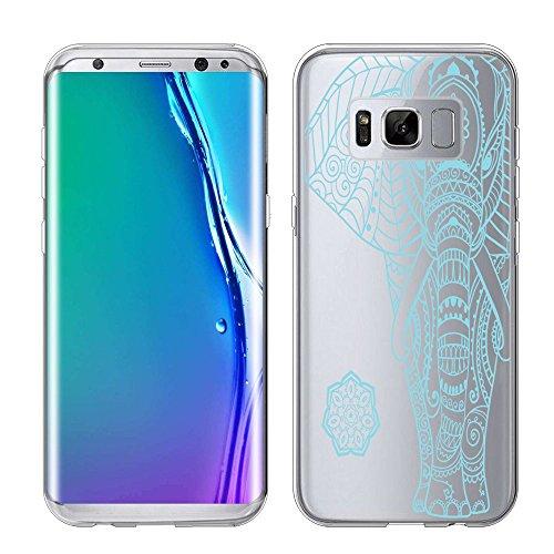 Galaxy S8 G950 Case, URAKKI TPU CLEAR Slim Fit Soft Skin Phone Cover for Samsung Galaxy S8 8th Gen G950 ( 2017 ) Design Case