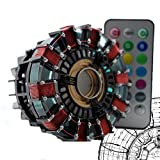 Gmasking Hand-made Remote Iron Man MK1 Led Arc Reactor 1:1 Prop Replica