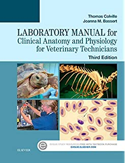 laboratory manual for clinical anatomy and physiology for veterinary technicians 3e - Animal Anatomy Coloring Book