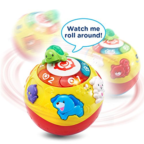 51lCHiJvbiL - VTech Wiggle & Crawl Ball Toy