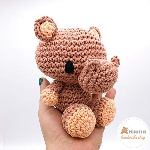 Amigurumi Hipopótamo - Ideias e tutorial   500x500