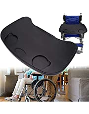 Wheelchair Tray, Anti-Fall Plastic Thickening, Wheelchair Lap Universal Trays Desk Fit for Manual Powered or Electric Wheelchairs, Wheelchair Tray Table Accessories