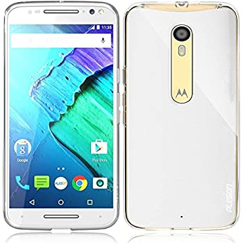 Moto X Pure Edition Case, PLESON [Tou] Motorola Moto X Pure Edition / Moto X Style Case, Crystal Clear/ Lightweight/ Exact Fit/ NO Bulkiness Soft TPU Protective Case for Moto X Pure Edition (2015)