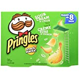 Pringles Snack Stacks Sour Cream and Onion Flavor 8x19gm, 152 Gram