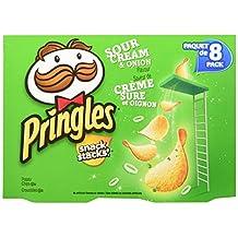 Pringles Snack Stacks Sour Cream and Onion Flavor 8x19gm, 152 Gram