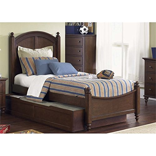 Liberty Furniture 277-YBR-TPB Abbott Ridge Twin Panel Bed, 42