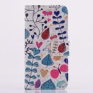 GX Teléfono Móvil Samsung - Carcasas de Cuerpo Completo/Fundas con Soporte - Gráfico/Diseño Especial - para Samsung S5 i9600 ( Multi-color , Cuero PU )