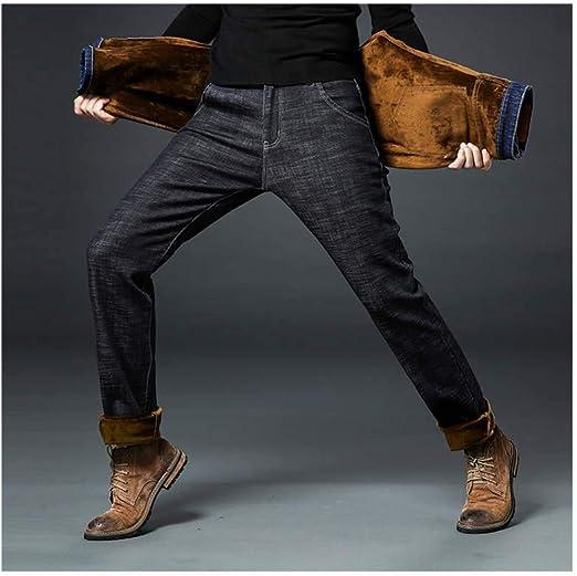 韓国ファッション スキニージーンズ スキニーパンツ カジュアルパンツ メンズ デニムパンツ ロング ジーンズ裏起毛 特大サイズ