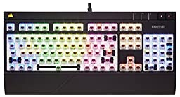 Corsair STRAFE RGB Mechanical Gaming Keyboard, Backlit Multicolor LED, Cherry MX Brown