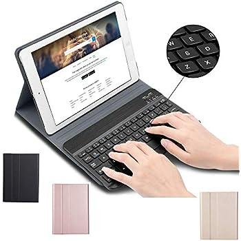 Amazon.com: LiuShan - Funda de piel sintética con teclado ...