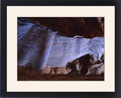 Con Marco de nieve de roca de dibujos tamúdico origin: Amazon ...