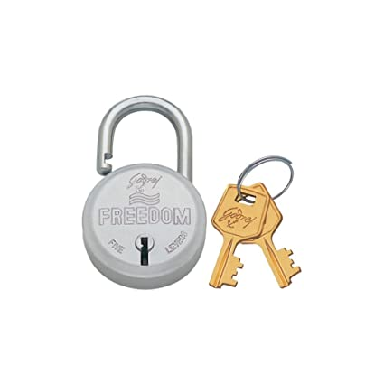 Godrej Locks Freedom - 2 Keys (Aluminium)