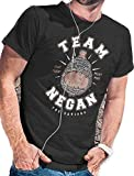 Team Negan T-Shirt – The Saviors Walking Zombies Dead LeRage Shirts MEN'S Charcoal X-Large