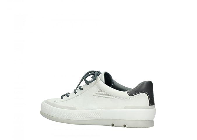 Wolky 0205290120, Baskets Pour Femme - Blanc - Weiß, 40 EU