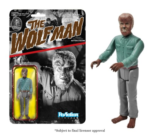 [Funko Universal Monsters Series 1 - Wolfman ReAction Figure] (1980s Movie Character Costumes)