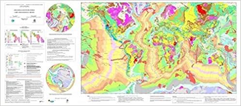 Carte Geologique Australie.Amazon Fr Carte Geologique Du Monde 1 25 000 000 Philippe